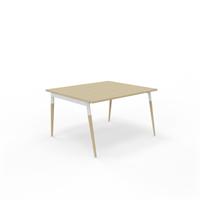 X3 Konferencebord X3 bord med egetræsben 120x120 cm