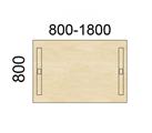 Contur Rektangulære bord 80