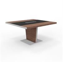 Zeta Mødebord Zeta mødebord med læder 140