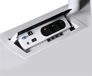 Integrering El/data Power Boxen med USB, VGA, HDMI